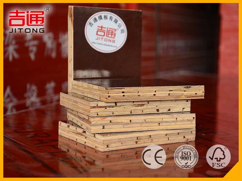 Customized Construction Waterproof Bamboo 18mm Plywood Rate - JITONG